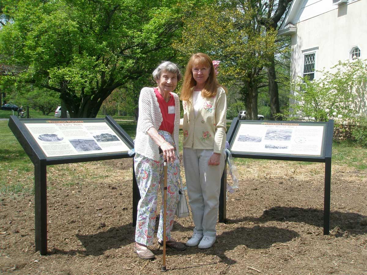 Mrs. William Flemer III with Anne Zeman, FPNL Trustee